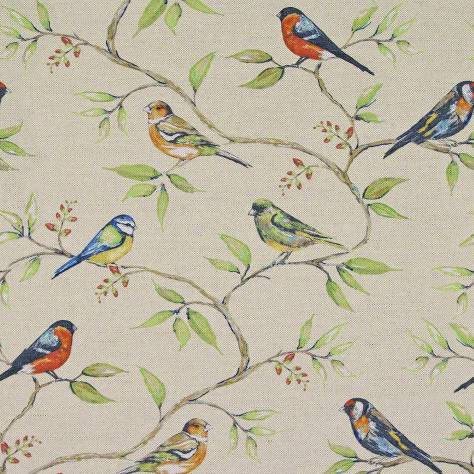 Art of the Loom In the Summer Time Fabrics Dawn Chorus Fabric - Dove - DAWNCHORUSDOVE