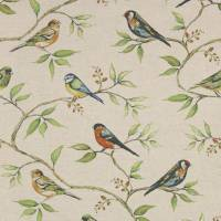 Dawn Chorus Fabric - Natural