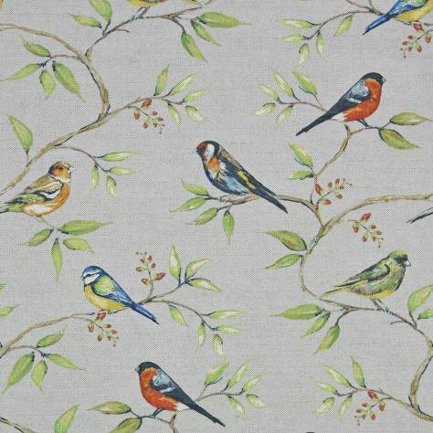 Art of the Loom In the Summer Time Fabrics Dawn Chorus Fabric - Sky - DAWNCHORUSSKY
