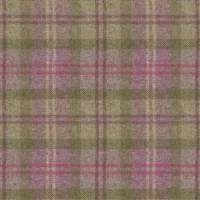 Oban Plaid Fabric - Purple Dawn