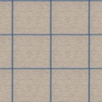 Glynn Check Fabric - Pacific