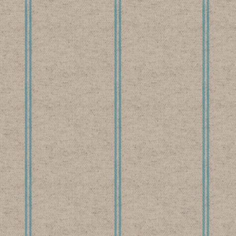 Art of the Loom Glynn Fabrics Glynn Stripe Fabric - Aqua - GLYNNSTAQUA