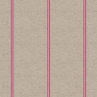 Glynn Stripe Fabric - Bubble Gum