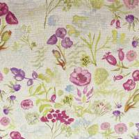 Poppy Fabric - Plum