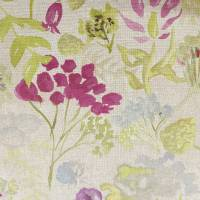 Wildflowers Fabric - Plum