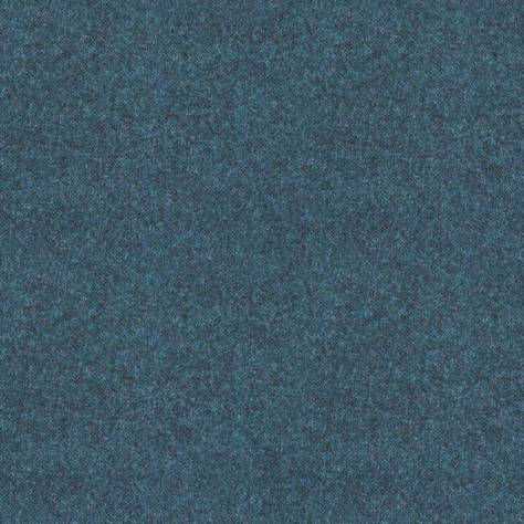 Art of the Loom Ombre Check Fabrics Elgar Wool Plain Fabric - Royal Blue - ELGARROYALBLUE