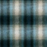 Ombre Check Fabric - Blue Heron