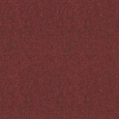 Art of the Loom Ombre Check Fabrics Elgar Wool Plain Fabric - Burnt Umber - ELGARBURNTUMBER