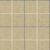 Brunel Check Fabric - Denim