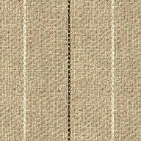Art of the Loom Brunel Fabrics Brunel Stripe Fabric - Chocolate - BRUNELSTRIPECHOCOLATE