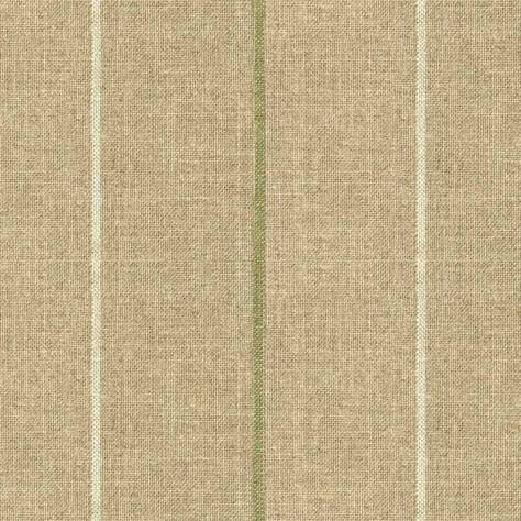 Art of the Loom Brunel Fabrics Brunel Stripe Fabric - Leaf - BRUNELSTRIPELEAF