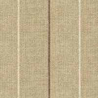 Brunel Stripe Fabric - Plum