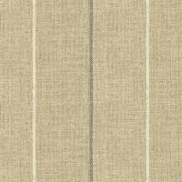 Brunel Stripe Fabric - Steel