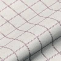 Galway Check Fabric - Heather