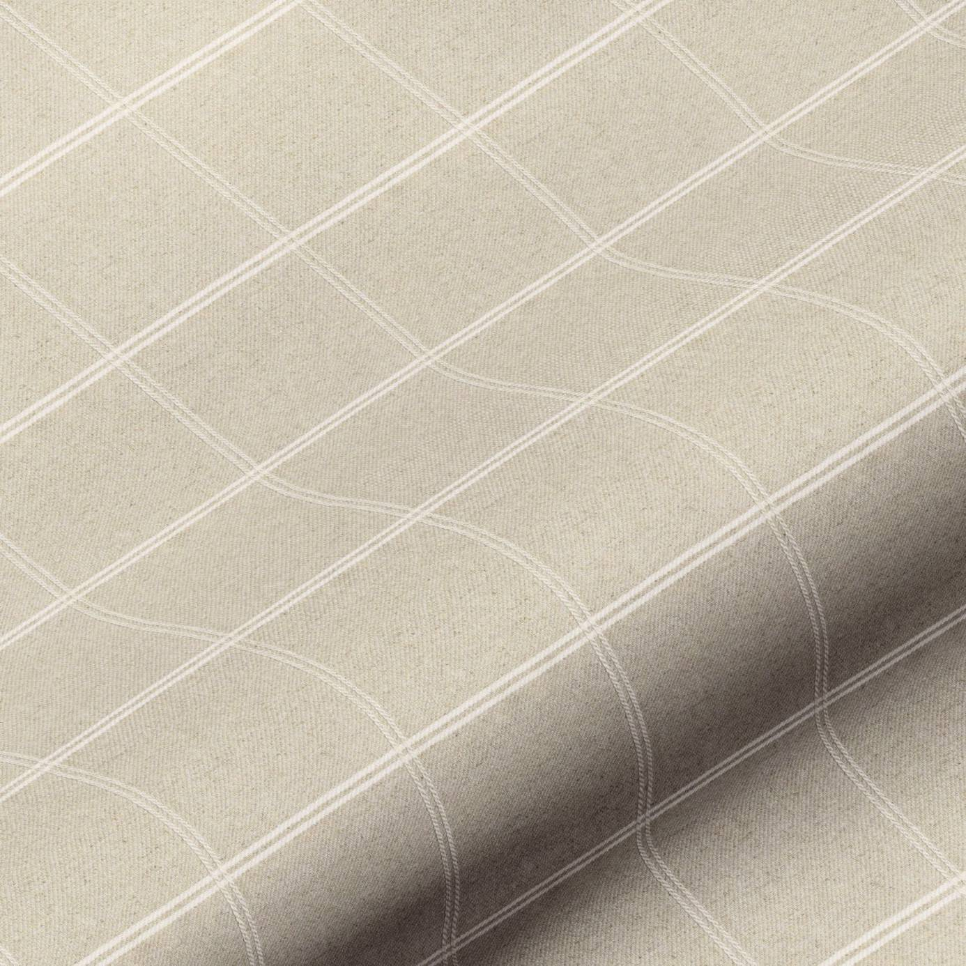 Galway Check Fabric - Natural (GALWAYCHECKNATURAL) - Art of the Loom ...