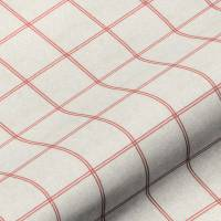 Galway Check Fabric - Raspberry