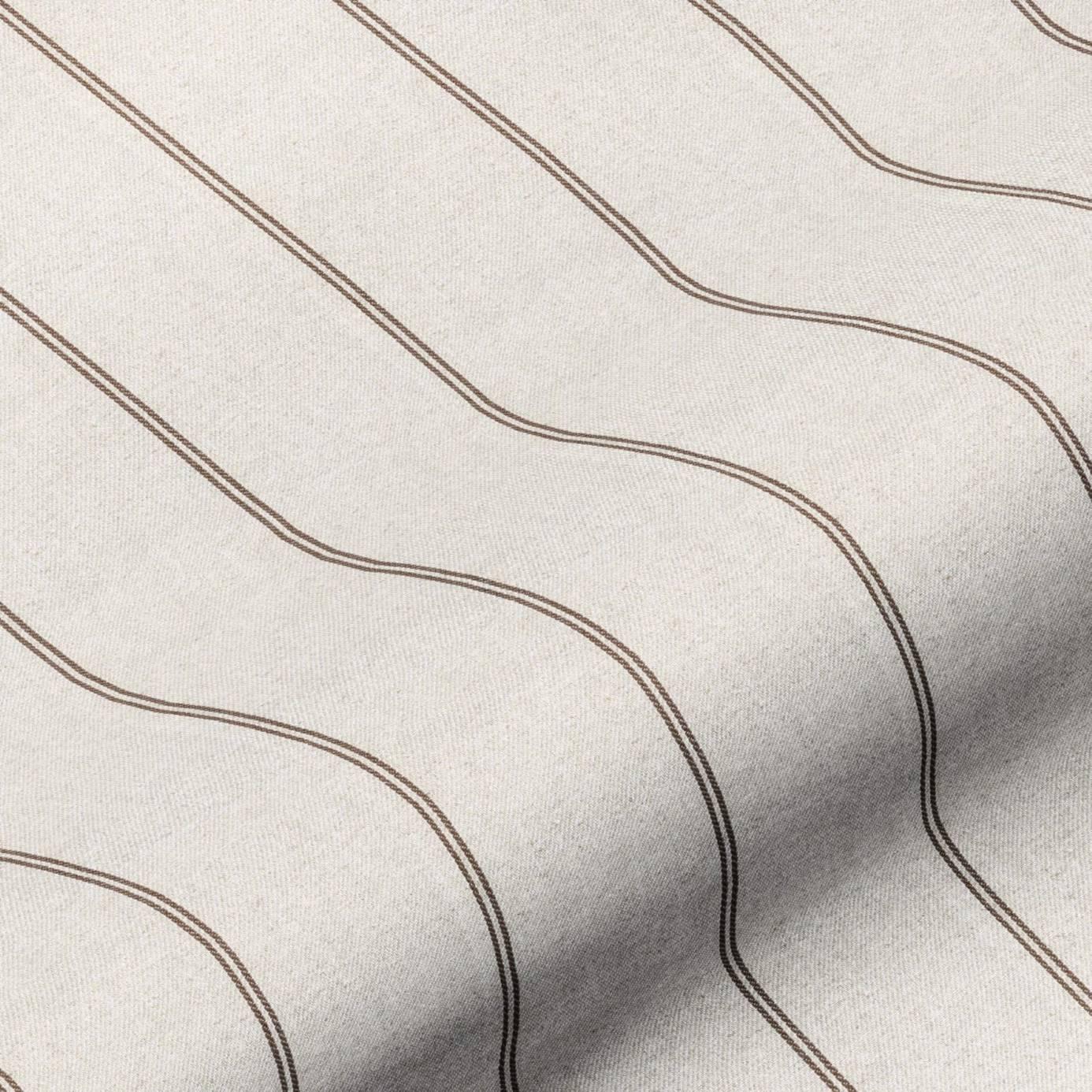 Galway Stripe Fabric - Mocha (GALWAYSTRIPEMOCHA) - Art of the Loom ...