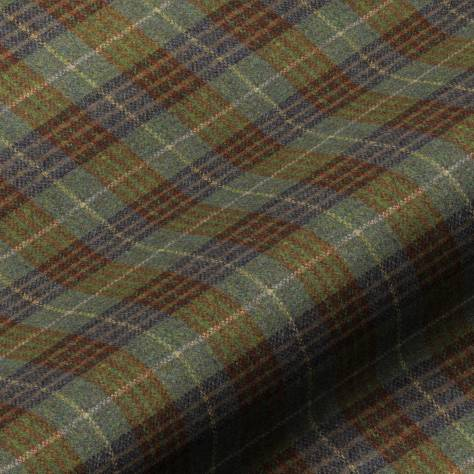 Art of the Loom Harris Tweed Fabrics Bowland Check Fabric - Forest - BOWLANDFOREST
