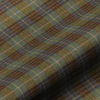 Bowland Check Fabric - Forest