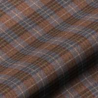 Bowland Check Fabric - Heather
