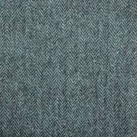 Herringbone Fabric - Ocean Spray