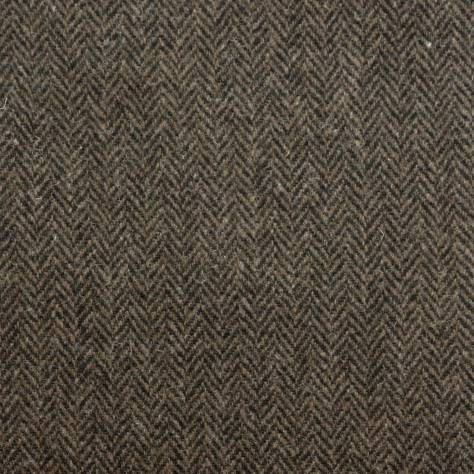 Art of the Loom Harris Tweed Fabrics Herringbone Fabric - Peatland - HERRINGBONEPEATLAND