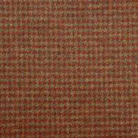 Houndstooth Fabric - Burnt Umber