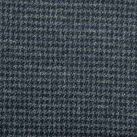 Houndstooth Fabric - Ocean Spray