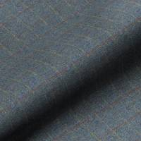 Huntsman Check Fabric - Ocean Spray