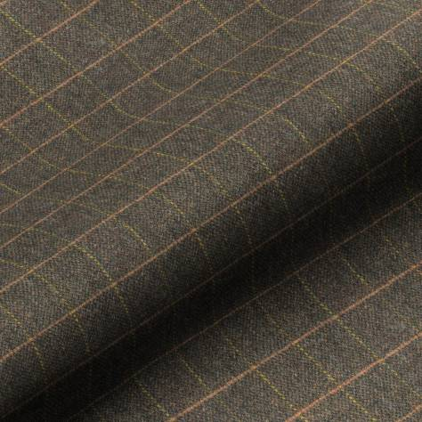 Art of the Loom Harris Tweed Fabrics Huntsman Check Fabric - Peatland - HUNTSMANCHECKPEATLAND