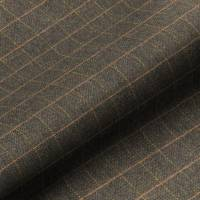Huntsman Check Fabric - Peatland
