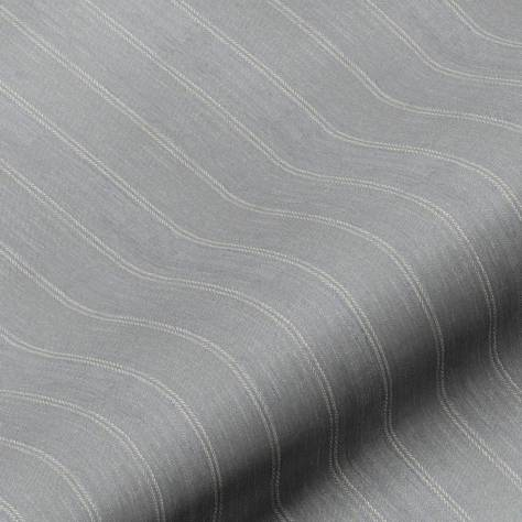 Art of the Loom Kerry/Kinsale Fabrics Kinsale Stripe Fabric - Midnight - KINSALESTRIPEMIDNIGHT