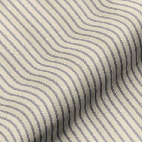 Art of the Loom Sloane Stripe Fabrics  Sloane Stripe Fabric - Midnight - SLOANESTRIPEMIDNIGHT
