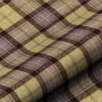 Wool Plaid Fabric - Blackberry Crumble