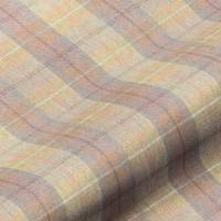Wool Plaid Fabric - Polperro