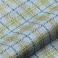 Wool Plaid Fabric - Salcombe