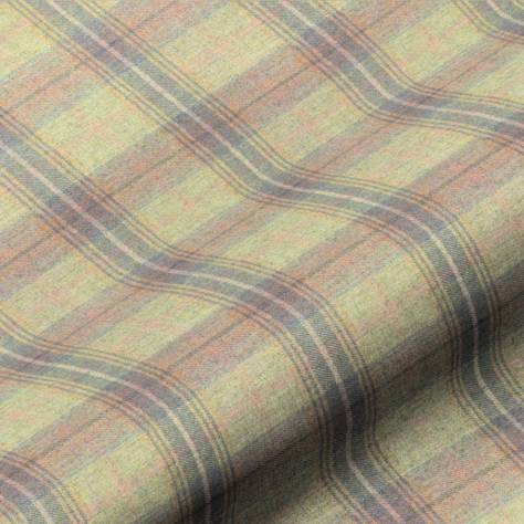 Art of the Loom Wool Plaid Vol 1 Fabrics Wool Plaid Fabric - Tobermory - WOOLPLAIDTOBERMOREY