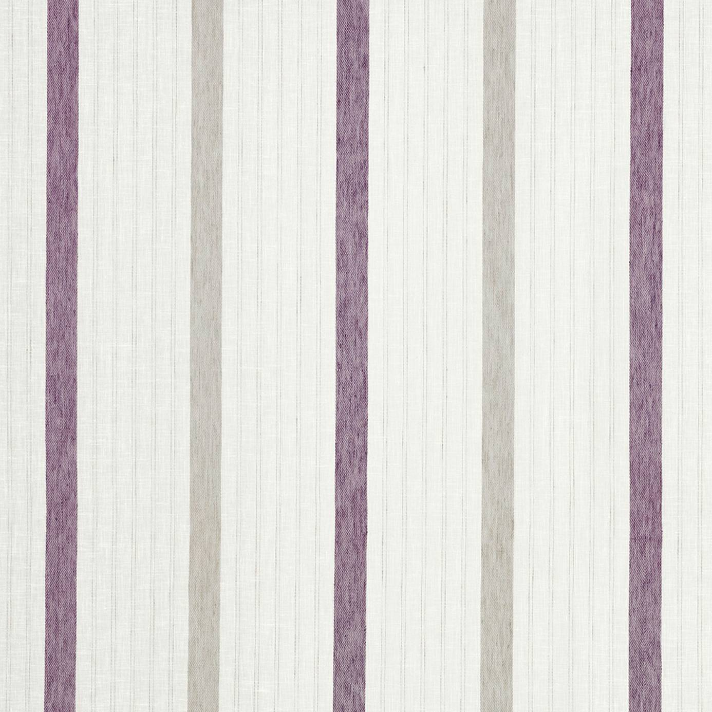 Rayure voile fabric violet 25345311 casadeco for Voile fabric