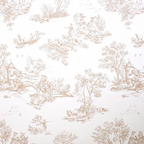Casadeco Chantilly Fabrics & Wallpapers Jouy Fabric - 22871310