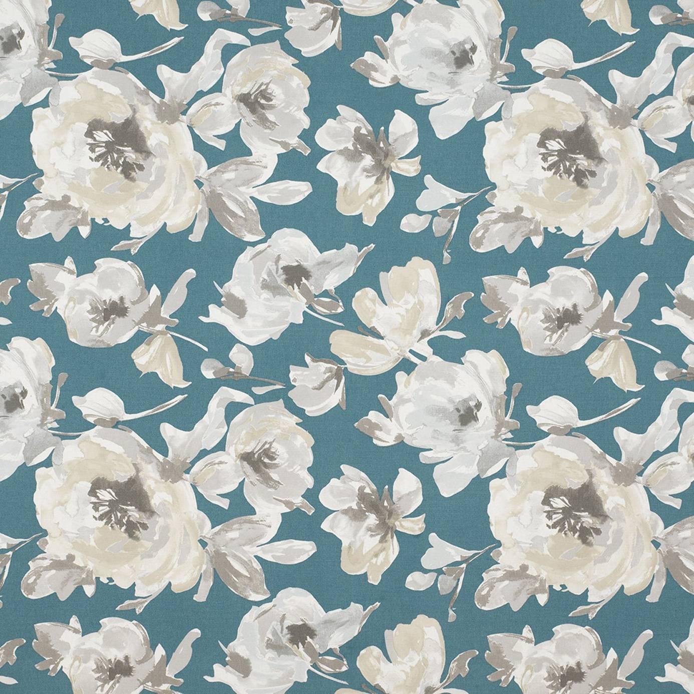 Fleurs Fabric Turquoise 26856119 Casadeco Amazing