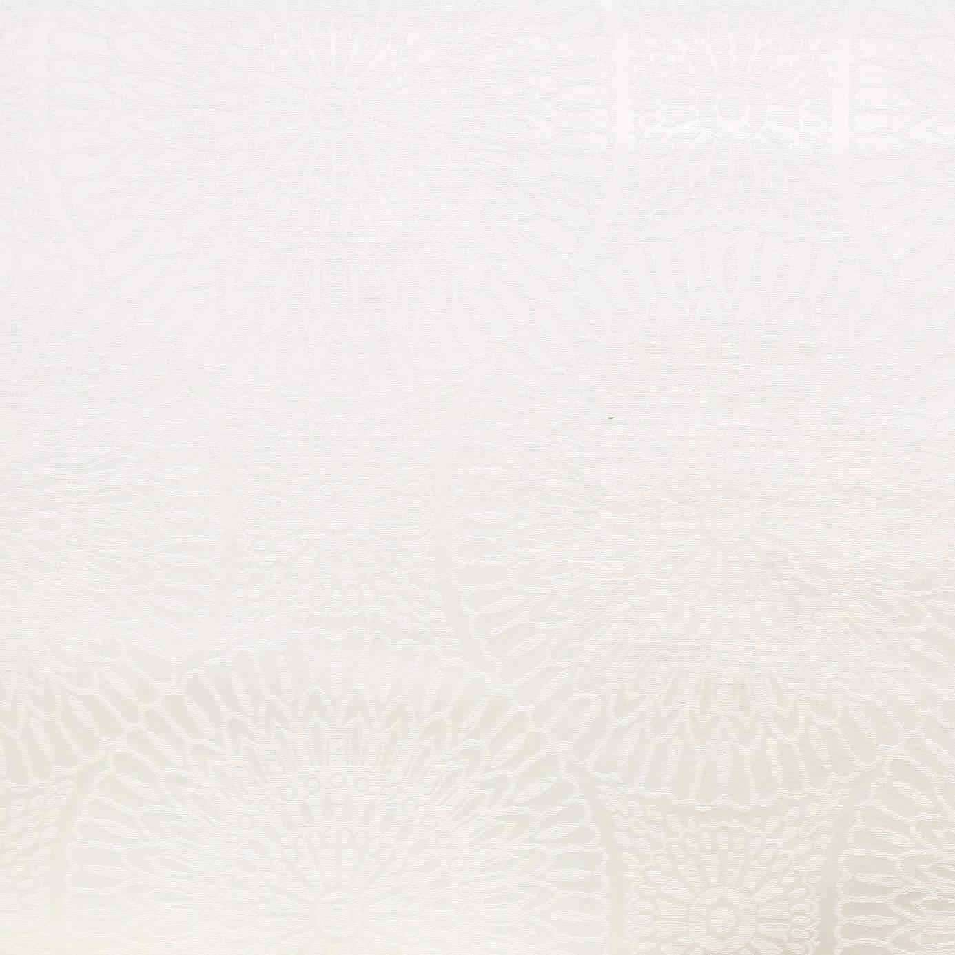roman blinds in etoile fabric blanc 27790111. Black Bedroom Furniture Sets. Home Design Ideas