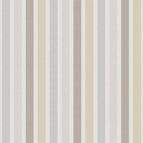 Rayure multicolour fabric beige taupe 19081101 casadeco jules et julie - Boutis beige et taupe ...
