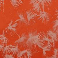 Vegetal Fabric - Orange