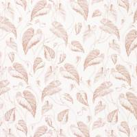 Voile Feuille de Vigne Fabric - Copper