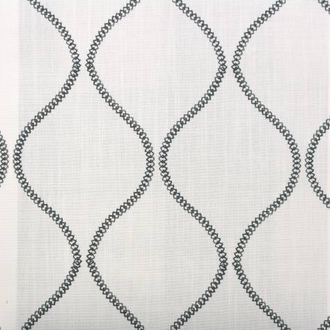 Ashley Wilde Belston Fabrics Colwyn Fabric - Charcoal - COLWYNCHARCOAL