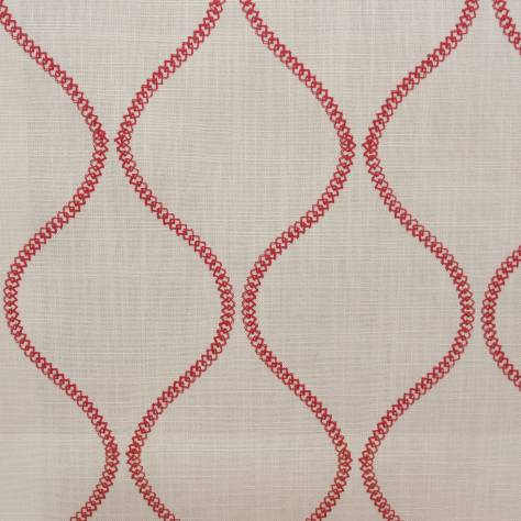 Ashley Wilde Belston Fabrics Colwyn Fabric - Cranberry - COLWYNCRANBERRY
