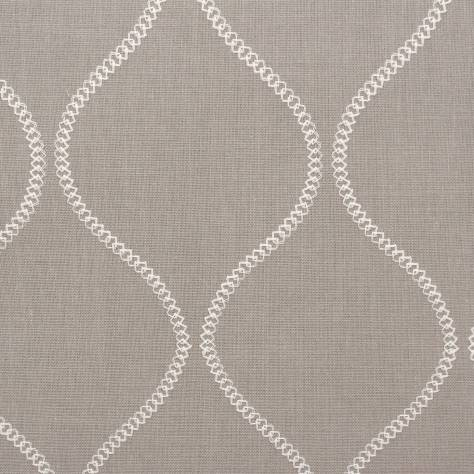 Ashley Wilde Belston Fabrics Colwyn Fabric - Silver - COLWYNSILVER