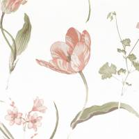 Buckingham Fabric - Rose