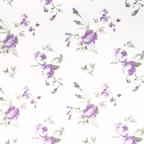 Ashley Wilde Hampton Court Fabrics Clarence Fabric - Lavender - CLARENCELAVENDER