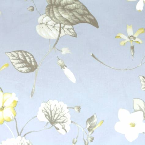 Ashley Wilde Hampton Court Fabrics Henley Fabric - Forget Me Not - HENLEYFORGETMENOT